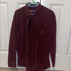Chaps Ralph Lauren casual button down w/ pocket